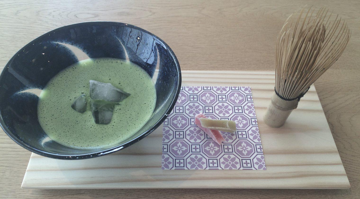 朝、心を整える 球磨禅心抹茶