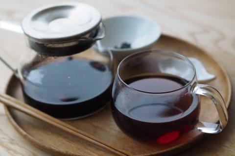 正月限定メニュー  禅心黒豆茶
